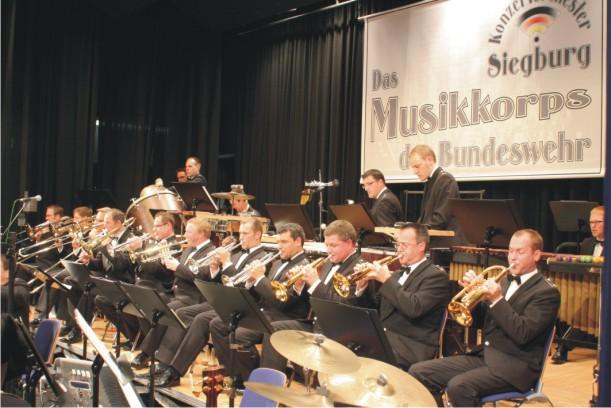 Das Musikorps der Bundeswehr beim Galakonzert 2007